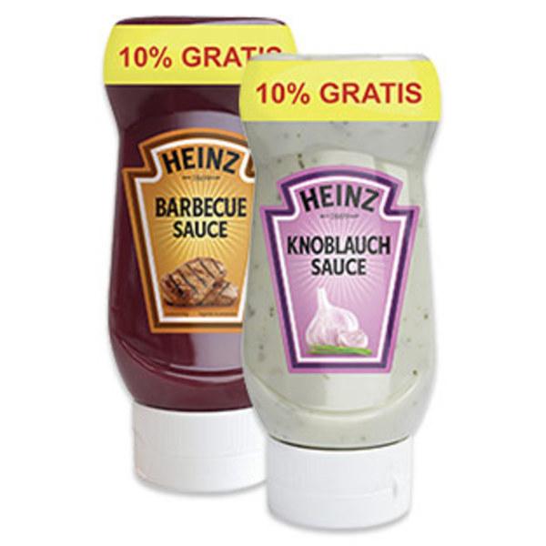 [real] Heinz Feinkostsaucen mit 10% mehr Inhalt für 99 Cent