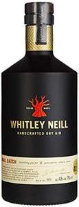 Whitley Neill Handcrafted Dry Gin ¦ 0,7l 43% ¦ bei [Amazon] mit Prime