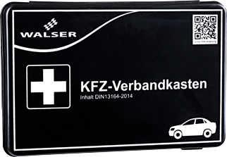 Walser KFZ-Verbandkasten (DIN 13164-2014) für 3,99€ [Kaufland ab 26.09.]