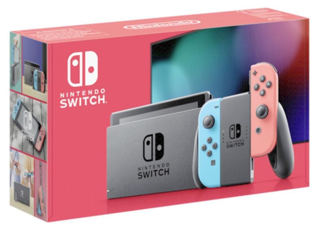 REAL Nintendo Switch (neue Version)