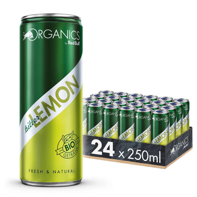 Red Bull Organics, Verschiedene Sorten 24x0,25L