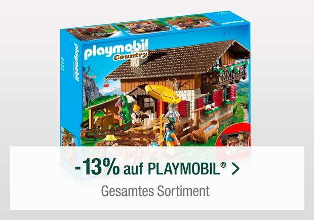 Nur heute gültig: MINDESTENS 13% Rabatt auf PLAYMOBL® bei Galeria-Kaufhof