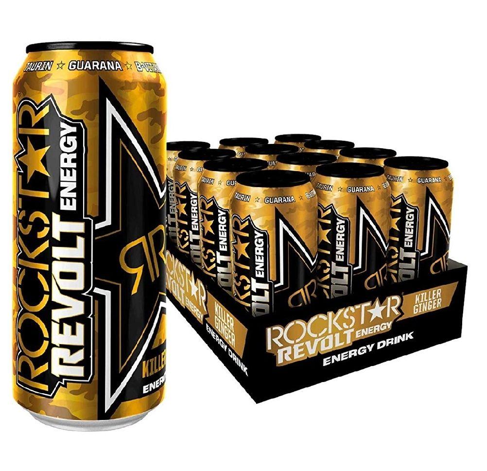 Rockstar Energy 12er Paket verschiedene Sorten