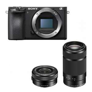 Sony Alpha 6500 Kit 16-50mm + 55-210mm