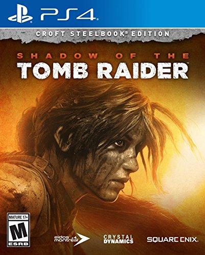 Shadow of the Tomb Raider Croft Steelbook Edition (PS4) für 22,70€ (Amazon US)
