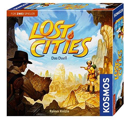 Lost Cities - Das Duell - Kartenspiel bzw. Brettspiel für 2 Spieler