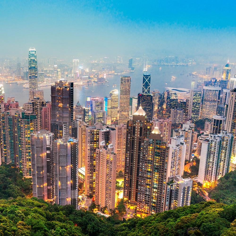 Flüge nach Hongkong / China inkl. Gepäck von Amsterdam (September - November) ab 289€