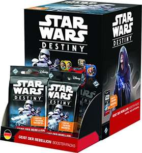 Kartenspiel Fantasy Flight Games FFGD3202 - Star Wars: Destiny - Geist der Rebellion Booster 36 Stk.
