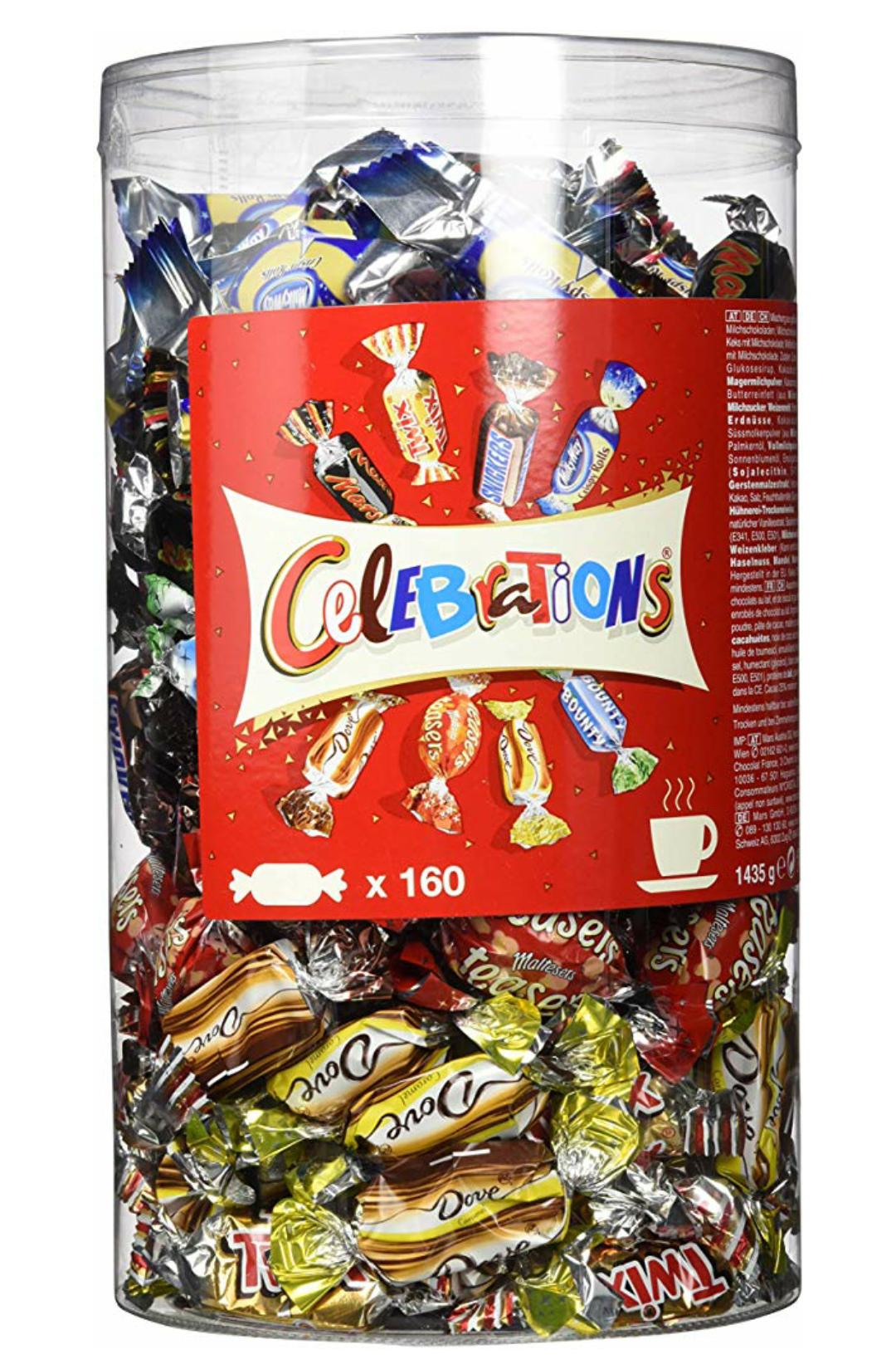 Celebrations Blisterbox, 1,4 kg Multipack mit 160 Pralinen [Prime]