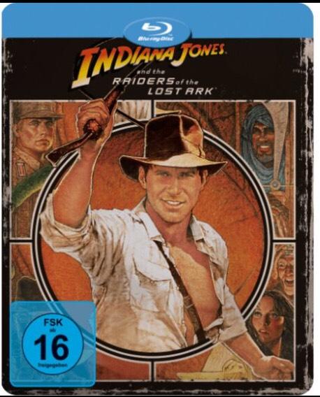 Indiana Jones 1-3 Blu-ray Novobox je 6,99 auf Blu-ray (MediaMarkt) + Shoop