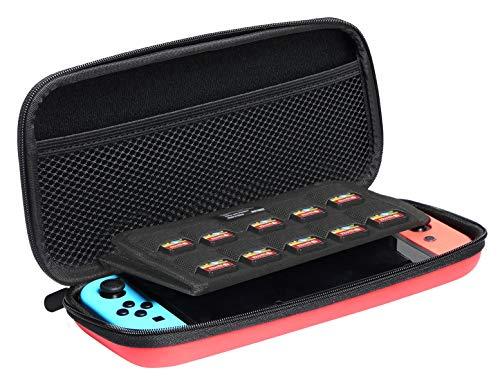 AmazonBasics - Tragetasche für die Nintendo Switch (Rot) für 5,62€ (Amazon Prime)