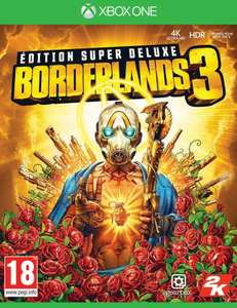 Borderlands 3 Super Deluxe Steelbook-Edition (Xbox One) [PEGI]