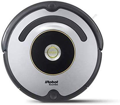 iRobot Roomba 615 Roboterstaubsauger, Geeignet für Teppiche und Fußböden, Dirt Detect-Technologie, 3-Phasen-Reinigungssystem,[Amazon.It]