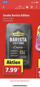 Jacobs Barista Edition 1kg