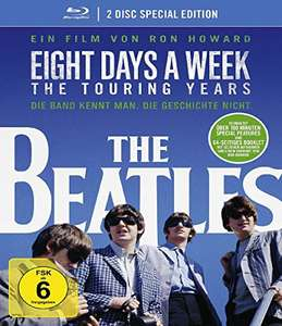The Beatles: Eight Days a Week - The Touring Years (2 Disc Special Edition Blu-ray) für 6,99€ (Amazon Prime & Saturn & Media Markt)