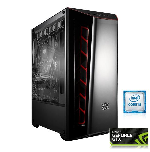 GAMING PC INTEL i5-9400F, 6x2.90GHz | 16GB DDR4 | GeForce® GTX 1660 6GB | 240GB SSD + 1TB HDD - Garantie [konfigurierbar]