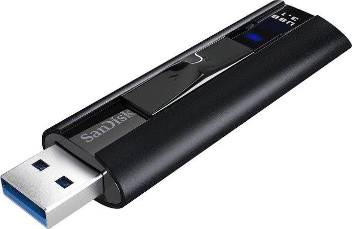 SanDisk Extreme PRO 256GB, USB-A 3.1 Stick (R420, W380) SDCZ880-256G-G46