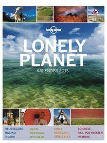 Lonely Planet Kalender 2013 @ amazon.de