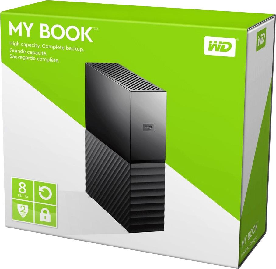 "[cyberport & amazon] Western Digital My Book 8TB 3,5"" Externe Festplatte (USB 3.0 Micro-B) für 139€ bzw. 129€ mit amazon pay bei cyberport"