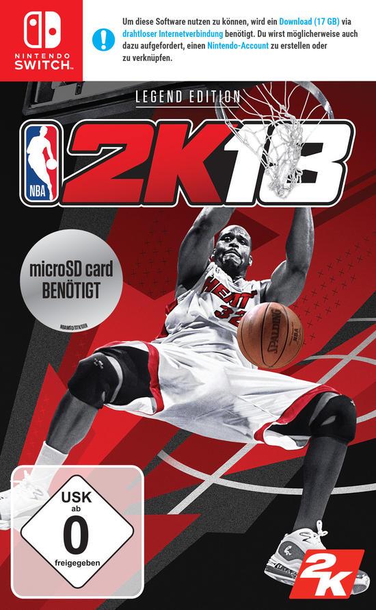 NBA 2K18 Legend Edition (Switch) für 11,99€ (GameStop)
