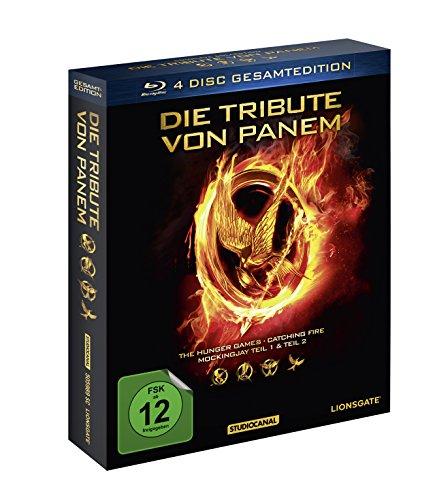 Die Tribute von Panem  - Gesamtedition auf 4 Blu-ray Discs [Prime]