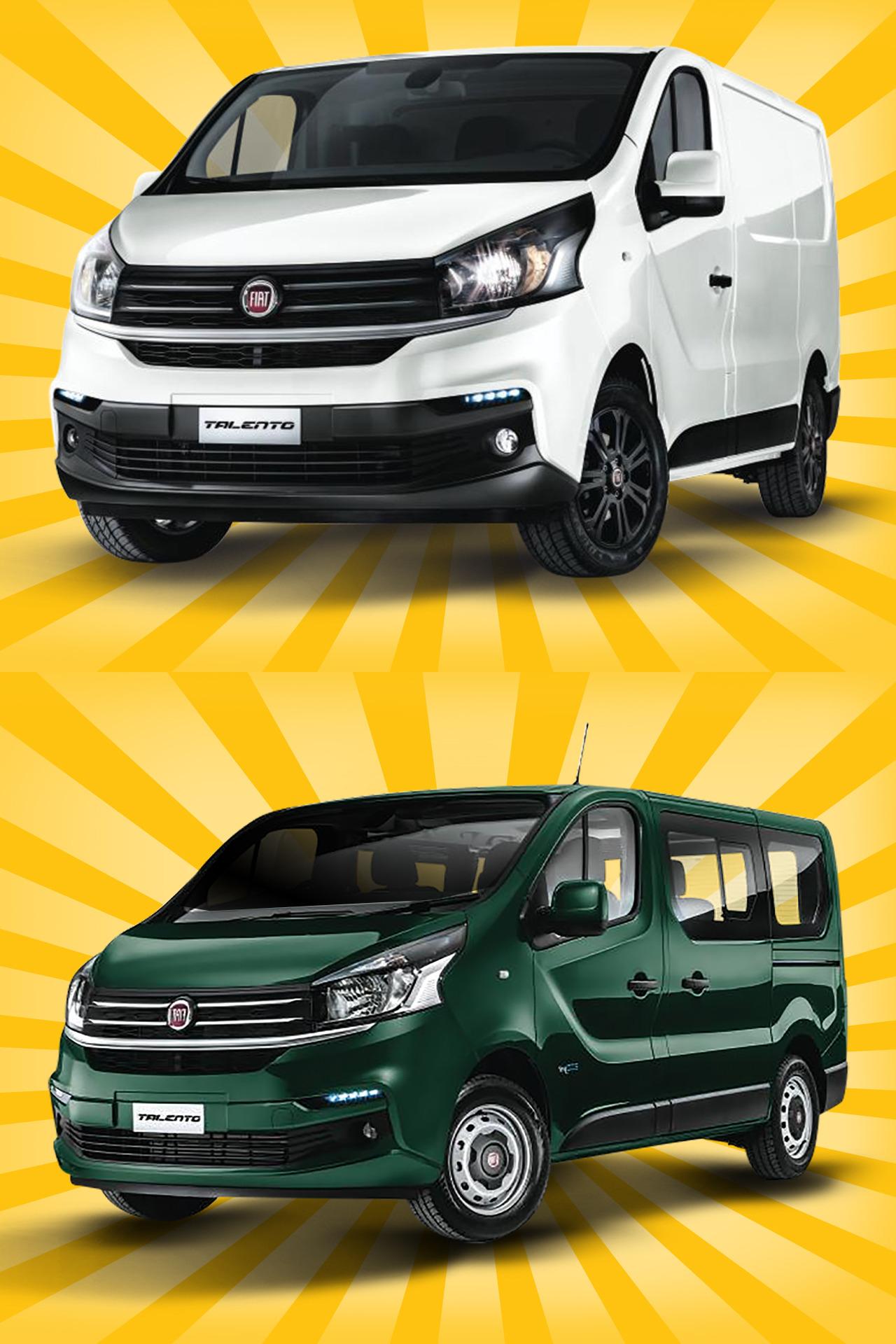 [Privat & Gewerbe] Fiat Talento Kastenwagen L2H1 oder Kombi (je 120PS) für 99€ bzw. 119€ netto, 12 Monate, 10.000 km p.a., inkl. Überführung