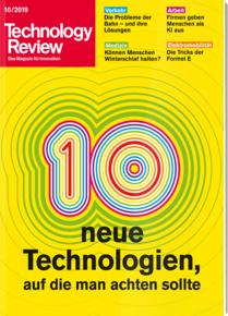 [Heise] Technology Review - 2 Ausgaben Print für 13,20 €, oder als Plusversion (Print + digital) für 14,00 €, mit 10€ Amazon-Gutschein