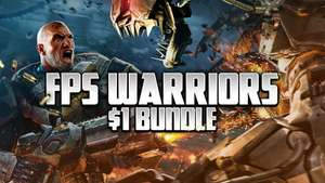 Bundle FPS Warriors Dollar (Steam) Sniper Ghost Warrior Trilogy, Alien Rage, The Royal Marine Commando, Operation Thunderstorm (Fanatical)