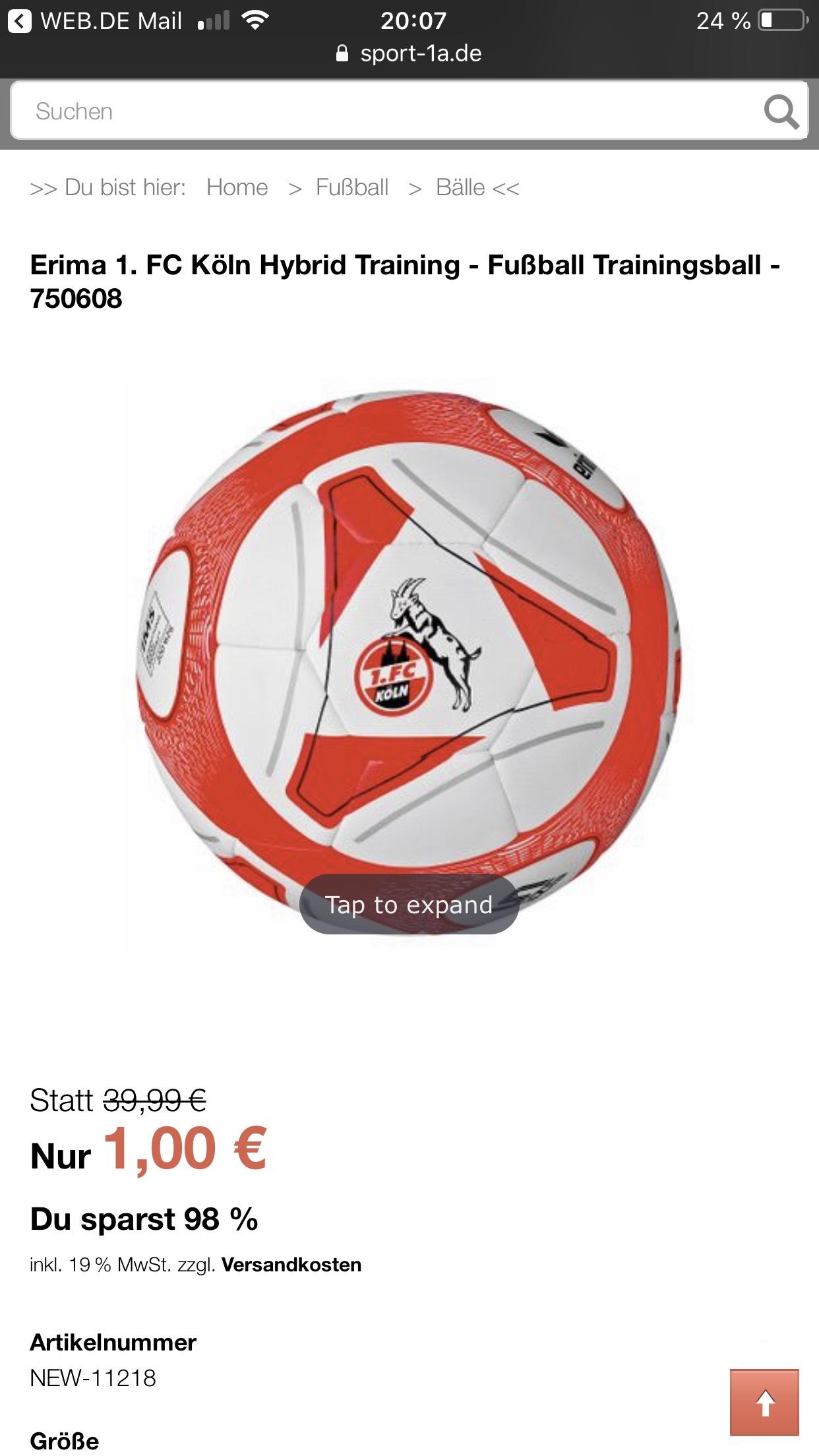 Fußball 1. FC Köln