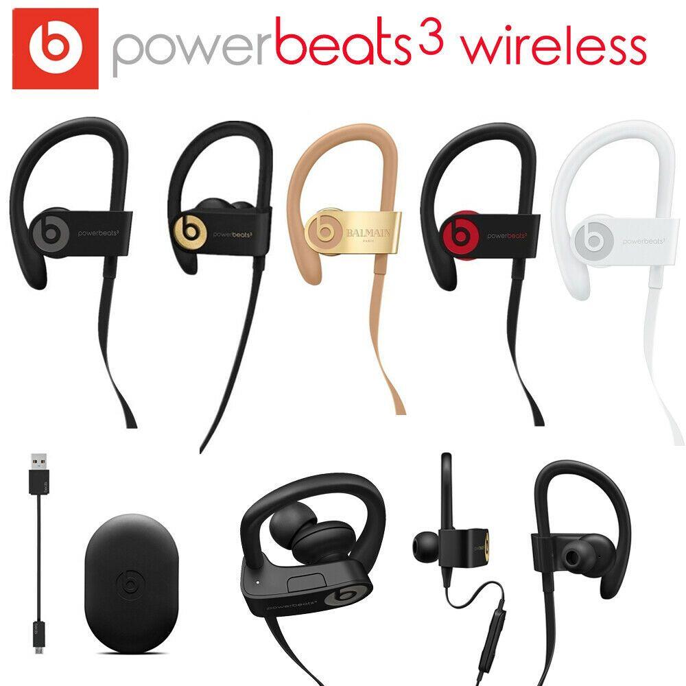 [Ebay] Beats By Dr. Dre PowerBeats 3 Sport Kopfhörer BT Kabelloser In-Ear-Stereo T4B8, versch. Farben