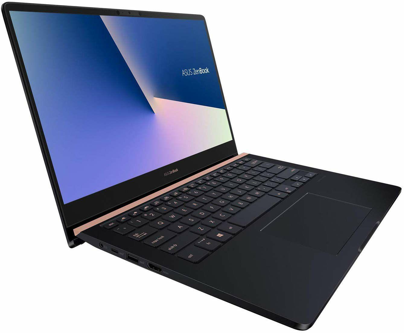"Asus Zenbook Notebook 14"" - FHD, iPS, 100% sRGB, i5-8265U, 8GB RAM, 512GB SSD PCIe, GTX 1050, 70Wh, 1.6kg, AZERTY Tastatur (Cdiscount)"