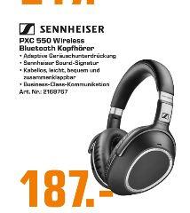 [Regional Saturn Flensburg-Ab 19.09] SENNHEISER PXC 550 Wireless, Over-ear Kopfhörer, Near Field Communication, Bluetooth für 187,-€
