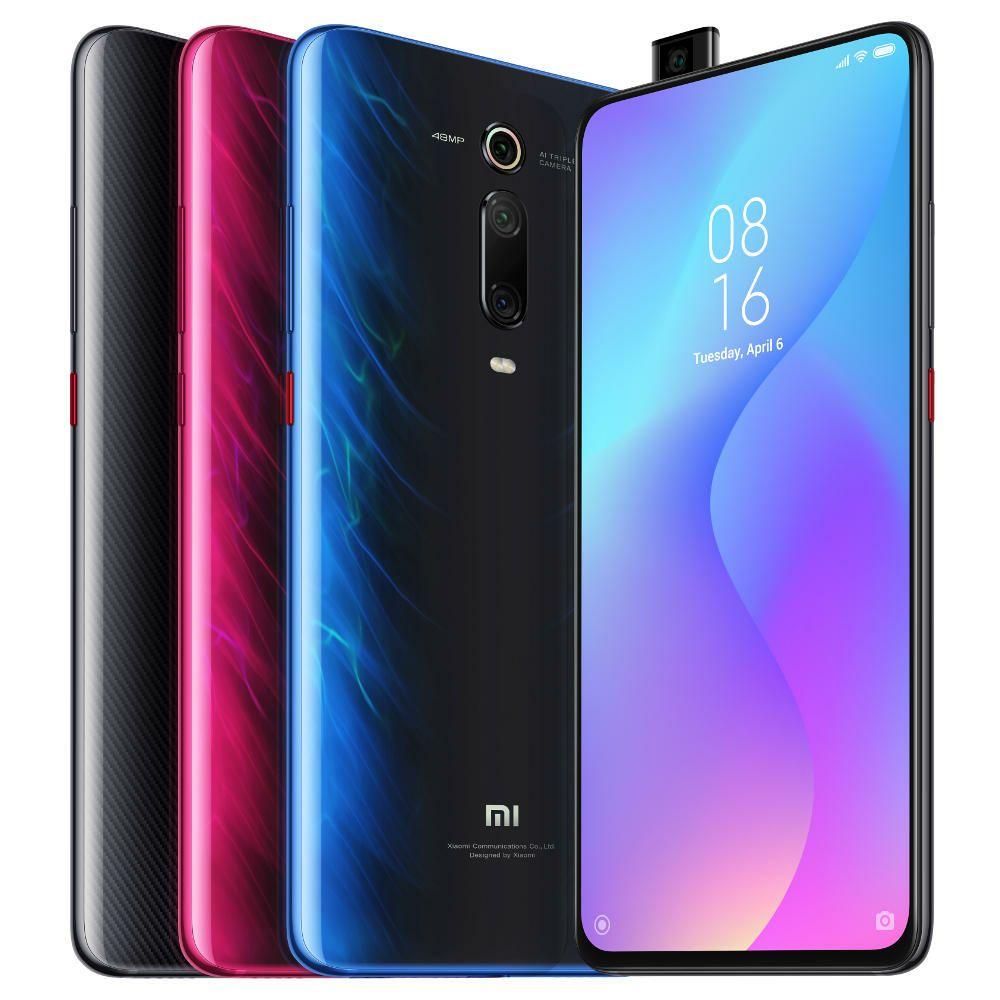 "Xiaomi Mi 9T 6/64GB, 6,39"" 2340x1080 AMOLED, Dual-SIM, LTE, 4.000 mAh, Android 9.0, black/blue // m. Mi Band 3 für 278€ [Versand aus DE]"
