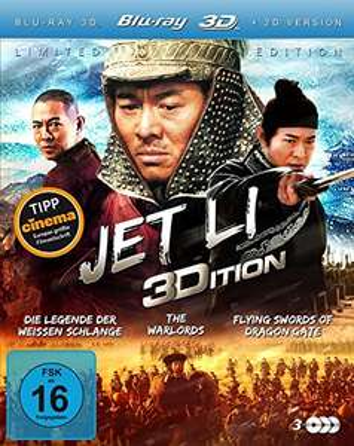 Jet Li 3D Edition (3 Disc Set 3D Blu-ray) für 7,97€ (Amazon Prime)