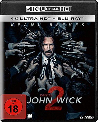 John Wick: Kapitel 2 4K (4K UHD + Blu-ray) für 16,99€ (Amazon & Saturn & Media Markt)