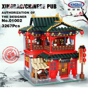 [ebay DE] Klemmbaustein Set - XingBao 01002 der Pub / die Taverne - 3267 Teile - Versand aus Deutschland