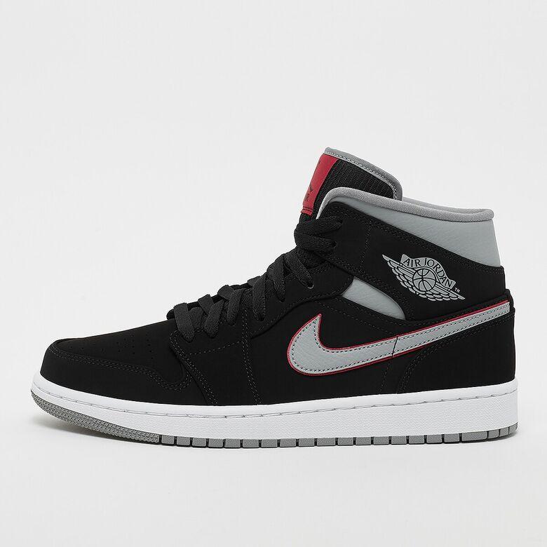 premium selection 51295 10c24 Snipes] Nike Air Jordan 1 Mid Gr. 40,5 - 46 Schwarz +Grau ...