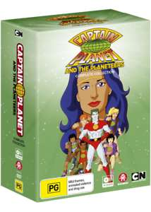 Captain Planet DVD Box (18 DVD´s)