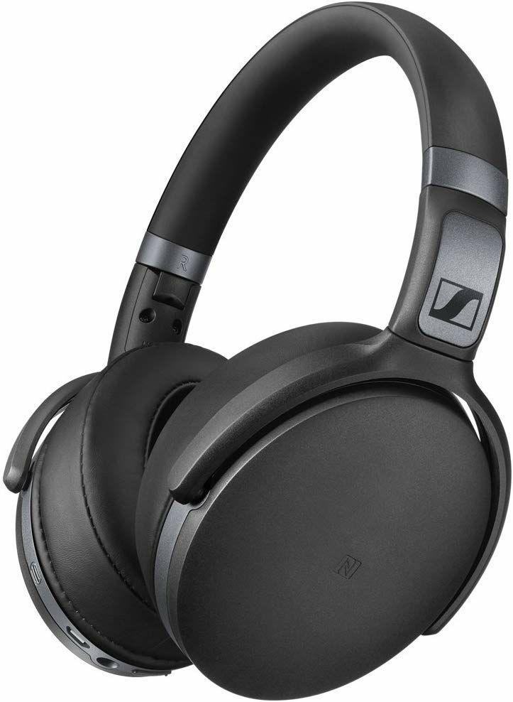 Sennheiser HD 4.40 BT Wireless, Over-ear Kopfhörer, NFC, Headset-Funktion, Bluetooth, inkl. Transport-Tasche, Schwarz