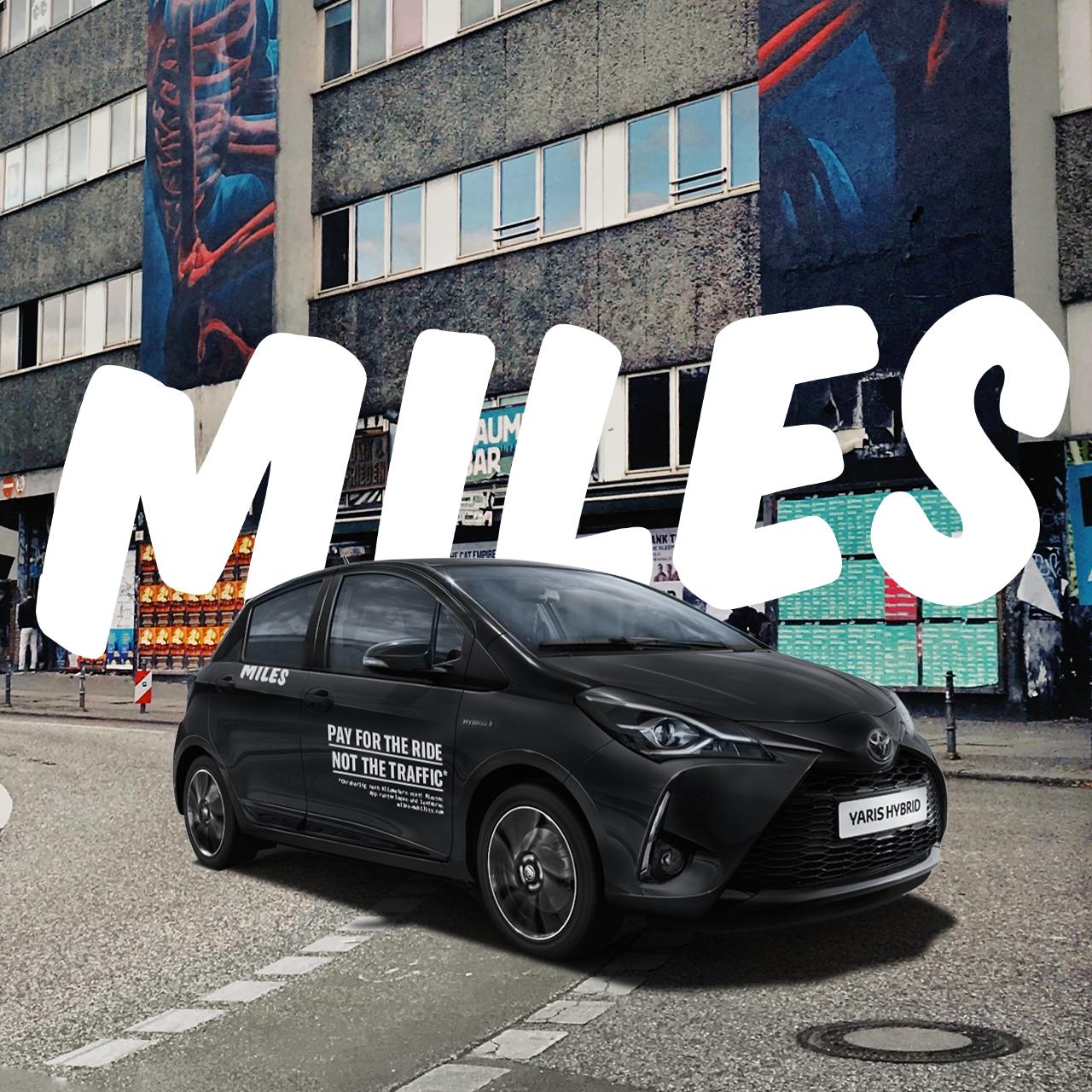 Kostenlose Registrierung mit 30€ MILEScredits bei Carsharing MILES - Köln, Berlin, München, Hamburg, Düsseldorf, Sylt