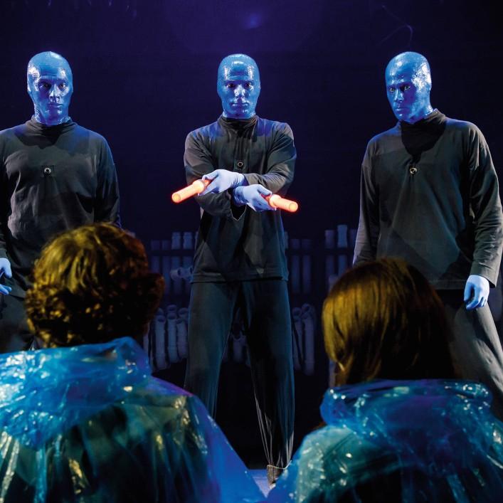 2:1 Blue Man Group Tickets - 50% Ersparnis buchbar bis 25.09.2019 für Tickets bis Mai 2020