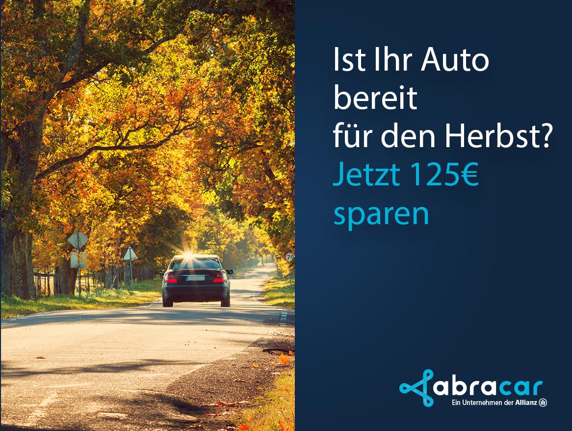 125€ Rabatt + 1000°P beim Autoverkauf-Service Abracar.de