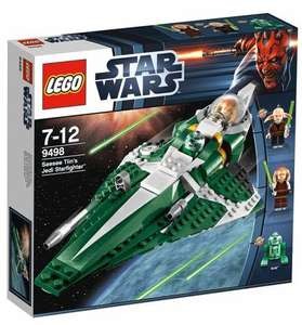 Lego Star Wars 9498 Saesee Tiins Jedi Starfighter für 26,99 Euro