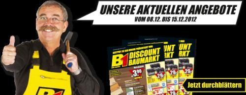 @B1 Baumarkt nur Mittwoch - Schwerlast-Steckregal 175kg