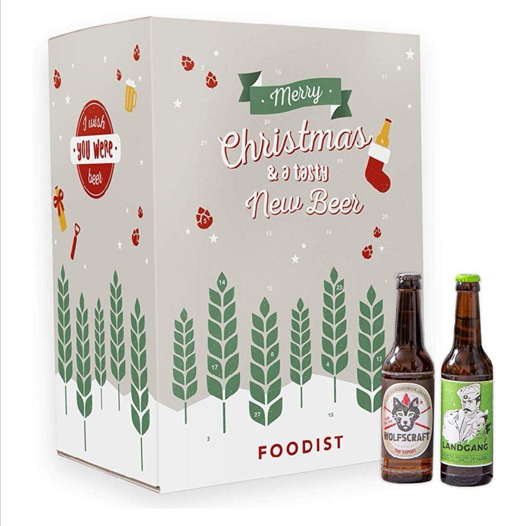 [Amazon] Craft Beer/Bier Adventskalender mit 24 Bieren a 0,33 l inkl. Booklet/Tasting Anleitung