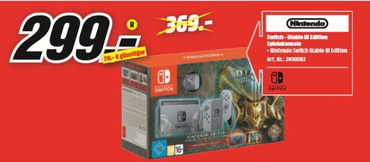 [Regional Mediamarkt Köln-Chorweiler] Nintendo Switch Diablo III - Limited Edition Bundle für 299,-€