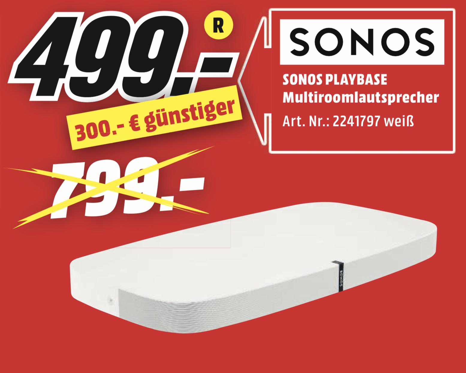 Lokal MediaMarkt Idar-Oberstein: SONOS Playbase für 499€
