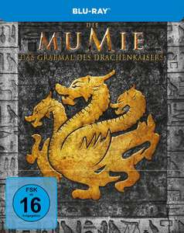 Die Mumie: Das Grabmal des Drachenkaisers Limited Steelbook Edition (Blu-ray) für 6€ versandkostenfrei (Media Markt & Amazon Prime)