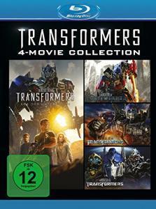 Transformers 1-4 (4-Movie Collection Blu-ray) für 12€ versandkostenfrei (Media Markt & Amazon Prime)