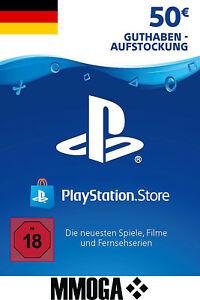 [ebay] aktuell 50€ PSN Playstation 50€ Network Code Card für 45,79€